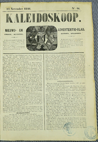 De Kaleidoskoop (1846-1851) 1846-11-14