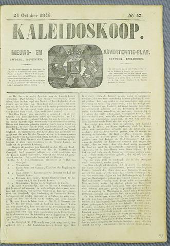 De Kaleidoskoop (1846-1851) 1846-10-24
