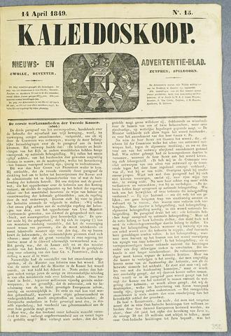 De Kaleidoskoop (1846-1851) 1849-04-14