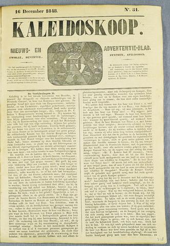 De Kaleidoskoop (1846-1851) 1848-12-16