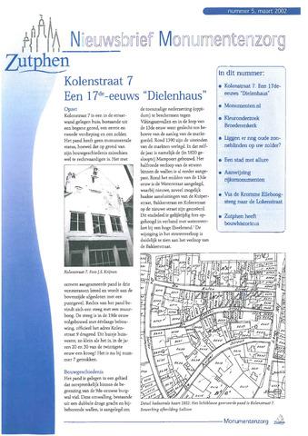 Zutphen MoNUmentaal 2002-03-01