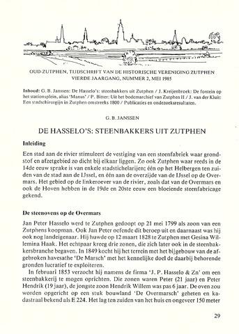 Zutphen (vanaf 1982) 1985-05-15