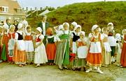 600 jaar stad Tholen. Verklede kinderen.
