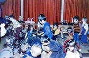 Schoolstraat, basisschool kleuters, Sinterklaasfeest met juf Janet Brouwer.
