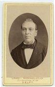 Onbekende man uit album Hage-Geluk is misschien Gabriel Geluk geb 1822 overl 188…