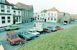 Kaaij, reklamebord Hotel Zeeland.
