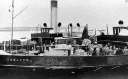 """De """"Zeeland"""" als passagierschip of gaan reizigers naar  stoomschip?"""