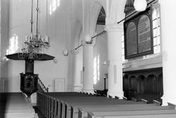 NH kerk interieur.