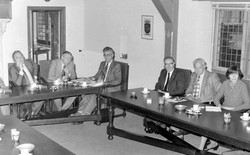 Gemeenteraad in vergadering