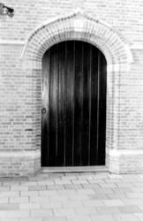 NH kerk toegangsdeur