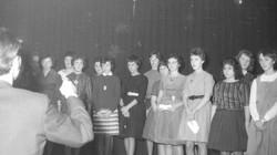 Zang vereniging bij een optreden met publiek