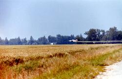 polder, sproeivliegtuig