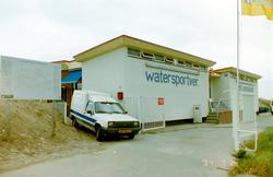 Jachthaven en gebouw Watersport Vereniging