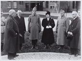 Opening van de Willem-II kazerne; burgemeester Vonk de Both hield een openingsrede
