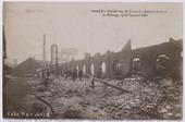 Op 15 januari 1908 brandde de fabriek van de firma G. Bogaers tot aan de grond toe af. Alleen de weverij bleef behouden. De fabriek stond op de hoek van de Tuinstraat en de       Antoniusstraat. De brand sloeg ook over naar een rij huizen aan de Poststraat. 125 arbeiders kwamen tijdelijk zonder werk.