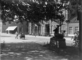 Ingang van het Wilhelminapark.