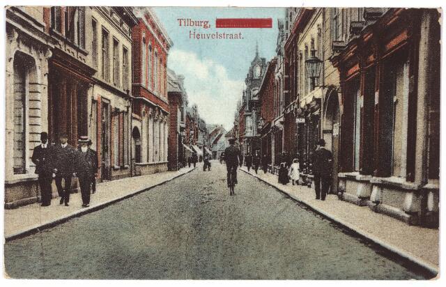 001154 - Heuvelstraat tussen Zomerstraat en Willem II-straat richting Heuvel.