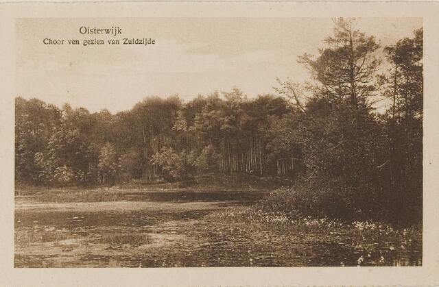 075117 - Serie ansichten over de Oisterwijkse Vennen.  Ven: Choorven.