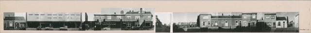 1625_0214 - Fotostrook; straatwand; panden aan de linten en hoofdverbindingswegen in het centrum van de stad; Meelstraat 1-101; foto's werden tussen 1976 en 1985 gemaakt. (foto gemaakt in periode 1976-1985)