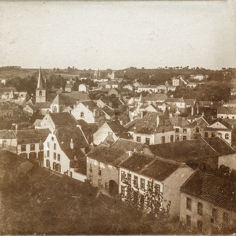 653520 - Uitzicht over Valkenburg (Origineel is een stereofoto.)