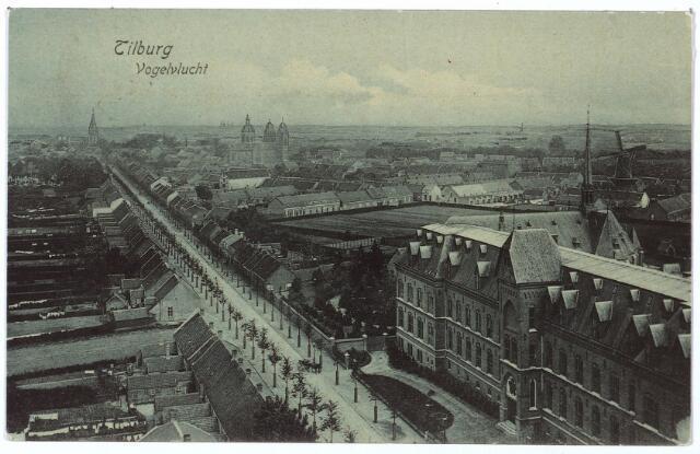 000149 - Bredaseweg met rechts het missiehuis van de missionarissen van het H. Hart