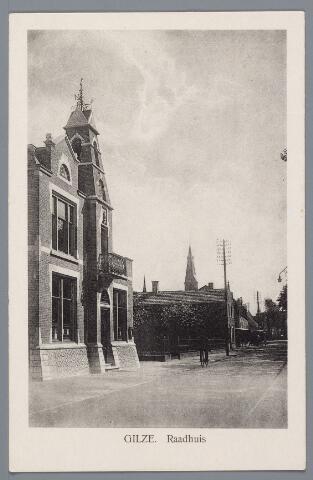 057965 - Gilze, Raadhuis/gemeentehuis.