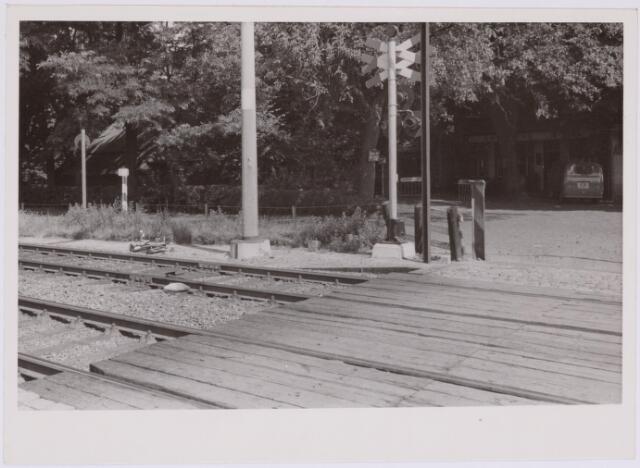 037286 - Spoorwegen: overweg bij Boerke Mutsaers