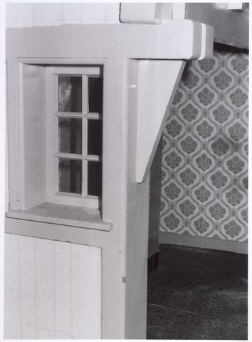 017932 - Detail van het interieur van hofstede De Blaak (schouw in de woonkamer van de boerenwoning)