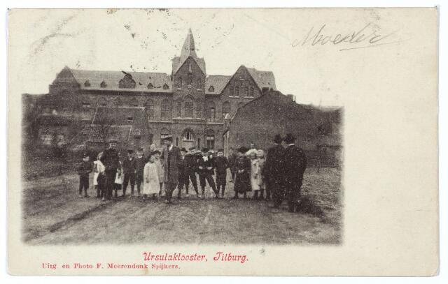 000395 - Elzenstraat, St. Ursulaklooster van de zusters ursulinen, die zich in 1904 in Tilburg vestigden.