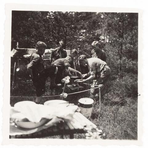 052930 - Jeugdorganisaties. Scouting. Districtsbijeenkomst verkenners