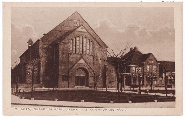 002724 - Kerk en pastorie van de parochie van de H. Gerardus Majella (Trouwlaan) aan de Wassenaerlaan.