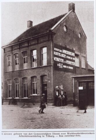 027801 - Oude Markt. Gemeentelijke Dienst voor Werkloosheidsversekering en Arbeidsbemiddeling.