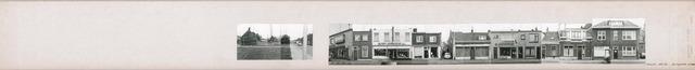 1625_0233 - Fotostrook; straatwand; panden aan de linten en hoofdverbindingswegen in het centrum van de stad; op strook met Bisschop Zwijsenstraat 128-130; foto's werden tussen 1976 en 1985 gemaakt.