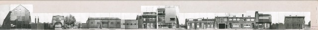 1625_0204 - Fotostrook; straatwand; panden aan de linten en hoofdverbindingswegen in het centrum van de stad; ; foto's werden tussen 1976 en 1985 gemaakt. (foto gemaakt in periode 1976-1985)