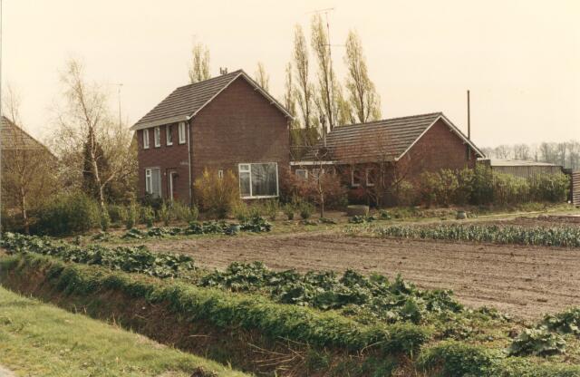 650834 - Gebied waar de latere woonwijk 'De Reeshof' is gebouwd.