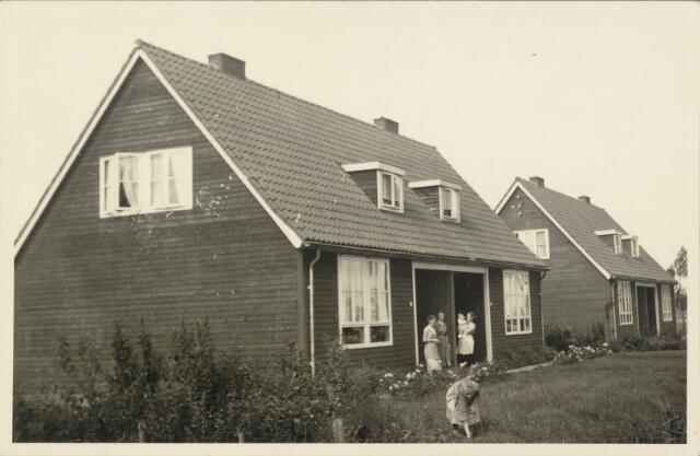 88916 - Woningen in Lageweg, gebouwd na de watersnood (geschenk uit Scandinavië)