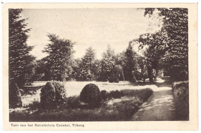 001441 - Tuin van het retraitehuis en klooster van O.L.V. van het Cenakel aan de Koningshoeven, nu Kempenbaan.
