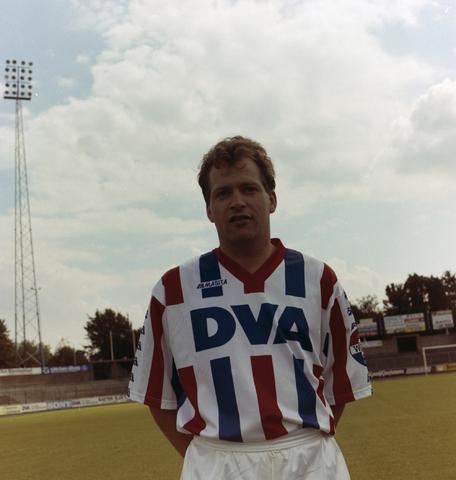 1237_010_672-3_009 - Edwin Godee (Utrecht 26 september 1964), voetballer Willem ii. Heeft met FC Utrecht in seizoen 1984-1985 de KNVB beker gewonnen.