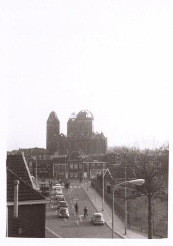 017057 - Sloop van de kerk van de parochie St.-Anna in 1973 bezien vanuit de Noordhoekring