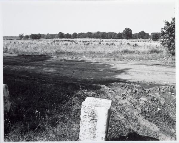 015376 - Landschap. Omgeving van de voormalige spoorlijn Tilburg - Turnhout, in de volksmond ´Bels lijntje´ genoemd