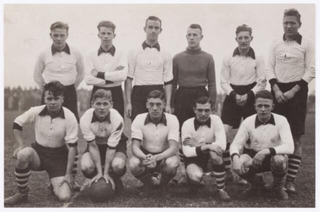054146 - Sport. Voetbal. Longa. Het elftal van Longa tijdens het seizoen 1936/1937