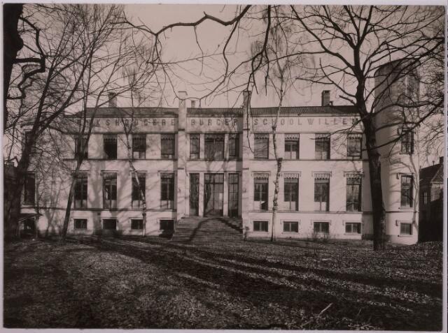 032102 - Onderwijs: Rijks H.B.S Willem II aan het Stadhuisplein