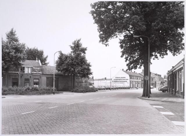 024989 - Kruising Oude Goirleseweg (voorgrond) - Generaal Winkelmanstraat (links) - Afrikaanderstraat (rechts) - Laarstraat (midden)