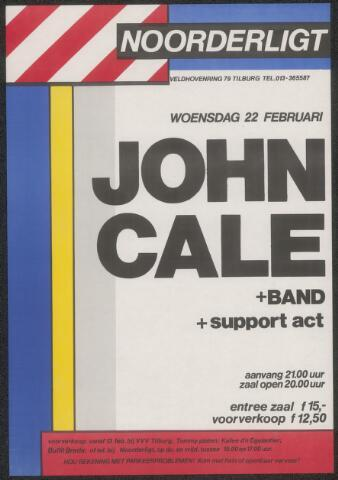 650195 - Noorderligt. John Cale. Support act::  Exploiting the Prophets
