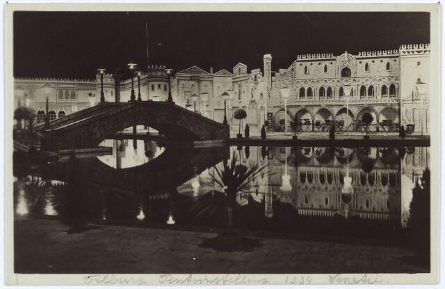 003343 - Internationale Tentoonstelling Stad Tilburg 1934. Attractieterrein Venezia.