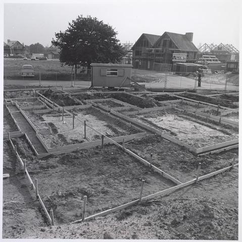 026407 - De Blaak in opbouw, hier huizen aan het Merkske