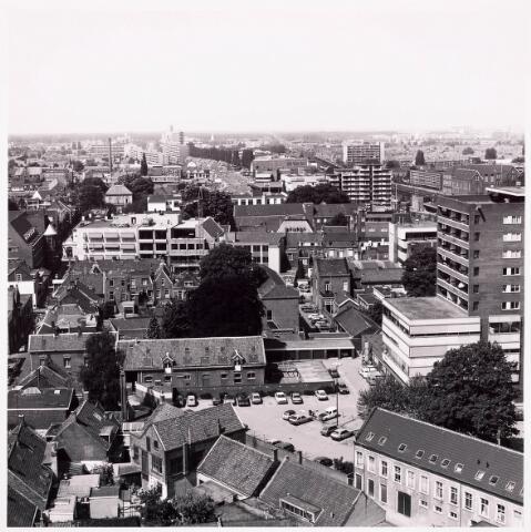 036598 - Panorama van Tilburg vanaf de P.T.T. Toren