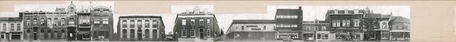 1625_0219 - Fotostrook; straatwand; panden aan de linten en hoofdverbindingswegen in het centrum van de stad; ; foto's werden tussen 1976 en 1985 gemaakt. (foto gemaakt in periode 1976-1985)