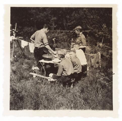 052929 - Jeugdorganisaties. Scouting. Districtsbijeenkomst verkenners