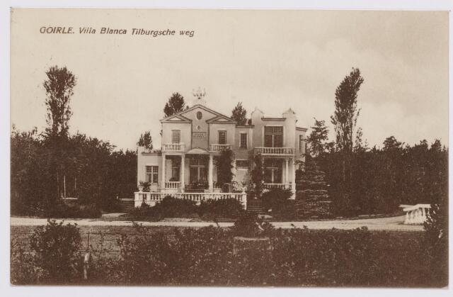 046571 - Villa Blanca aan de Tilburgseweg. De tuin is aangelegd door Albert Lejeune uit Tilburg..